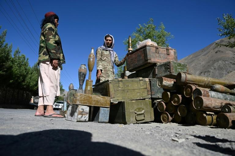 The Taliban overran Afghanistan in a lightning offensive ahead of the US pullout in August (AFP/WAKIL KOHSAR)
