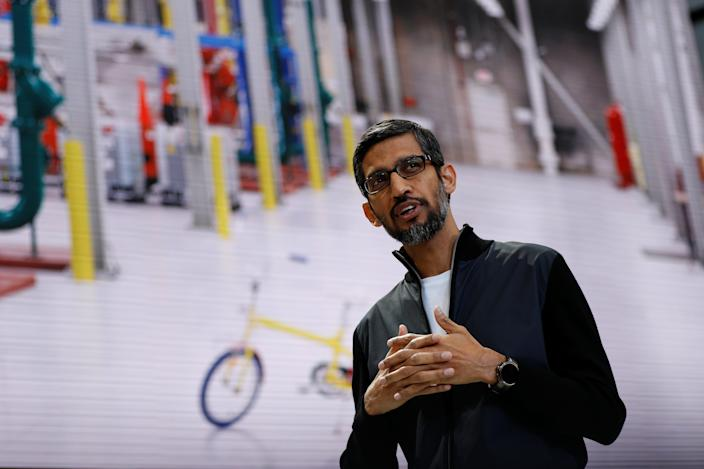 Google CEO Sundar Pichai was ranked highly as an effective leader by female employees.