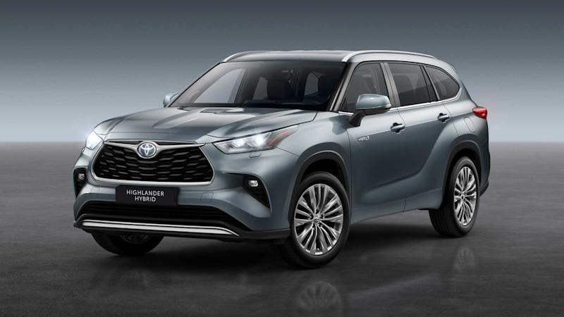 Toyota Highlander 2020 pour l'Europe