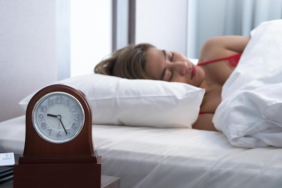 Getting more sleep can help aid weight loss [Photo: Getty]