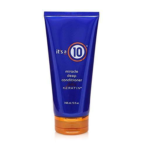 """<p><strong>It's a 10 Haircare</strong></p><p>amazon.com</p><p><strong>$15.29</strong></p><p><a href=""""https://www.amazon.com/Its-10-Conditioner-Keratin-Unisex/dp/B00EAMEPKK/?tag=syn-yahoo-20&ascsubtag=%5Bartid%7C10055.g.29024275%5Bsrc%7Cyahoo-us"""" rel=""""nofollow noopener"""" target=""""_blank"""" data-ylk=""""slk:Shop Now"""" class=""""link rapid-noclick-resp"""">Shop Now</a></p><p>The secret weapon in this deep condition is keratin. The protein penetrates the hair shaft, restoring missing moisture to dry and brittle hair.</p>"""