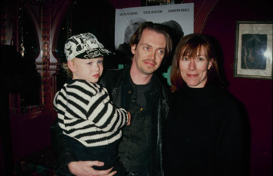 Steve Buscemi and wife Jo Andres shared son Lucian. (Photo by The LIFE Picture Collection via Getty Images)
