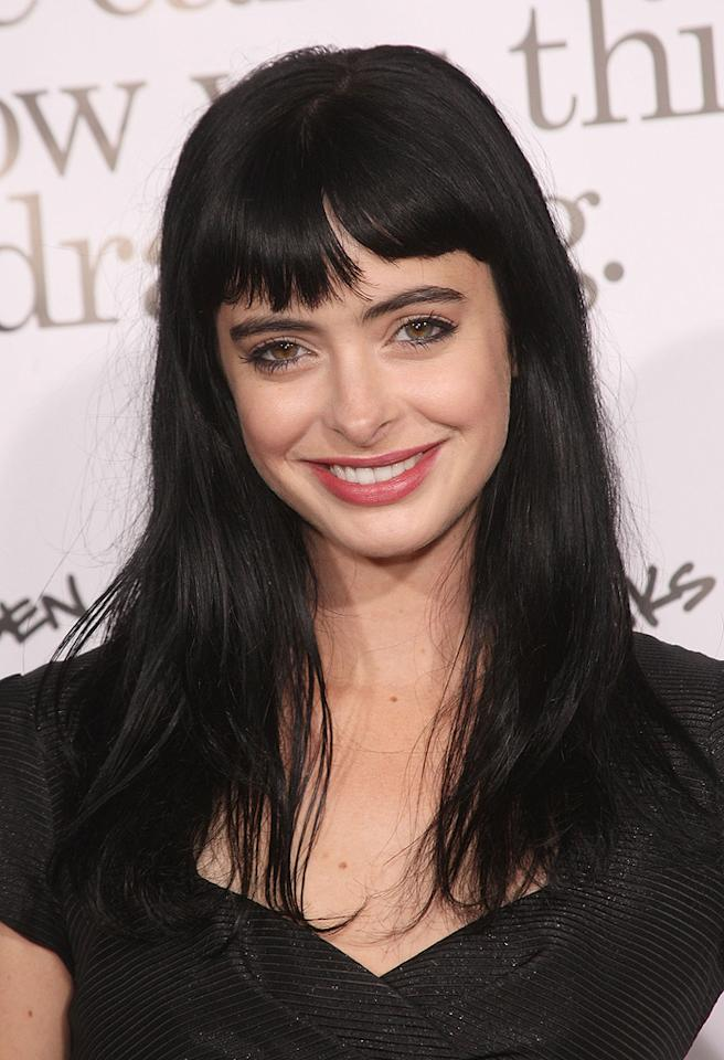 """<a href=""""http://movies.yahoo.com/movie/contributor/1808532777"""">Krysten Ritter</a> at the Los Angeles premiere of <a href=""""http://movies.yahoo.com/movie/1809958867/info"""">Zack and Miri Make a Porno</a> - 10/20/2008"""