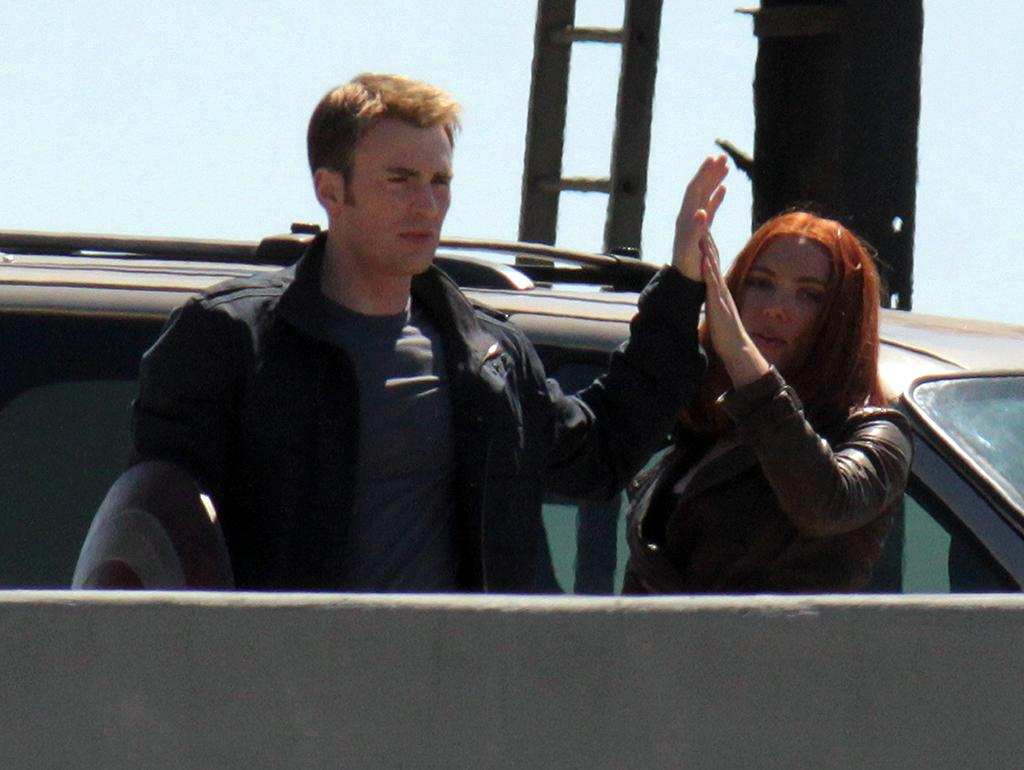"Principal actors Chris Evans, Scarlett Johansson, Anthony Mackie and ""The Winter Soldier"" actor Sebastian Stan, shoot several action sequences on Cleveland's West Shoreway, which will be closed for almost three weeks to accommodate the filming of Marvel Studios' ""Captain America: The Winter Soldier"".