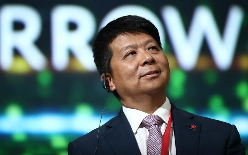 Huawei's chairman says that the US is falling behind on 5G - TASS