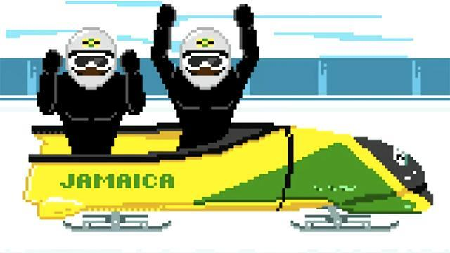 The Jamaican bobsled team has an amazing theme song and music video