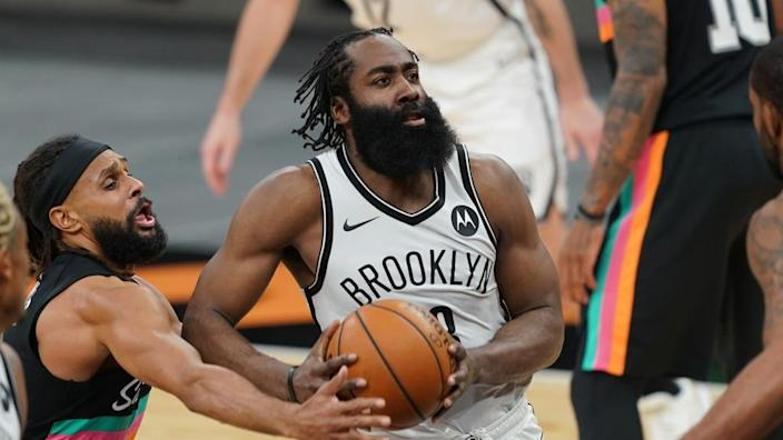 James Harden vs. Spurs