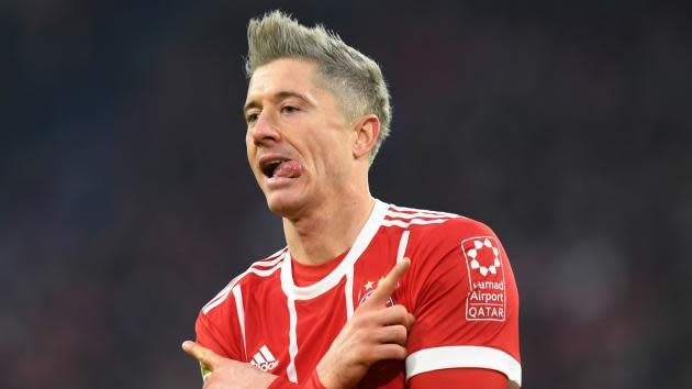 <p>Lewandowski employs new agent amid Real Madrid rumours</p>