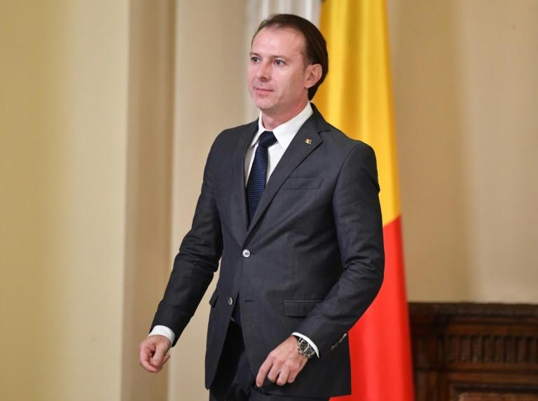 Florin Citu (pictured November 2019) has been a liberal senator since 2016 and was serving as interim Finance Minister