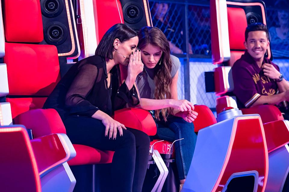The Voice of Germany 2020, Yvonne Catterfeld, Stefanie Kloß (Bild: ProSieben)