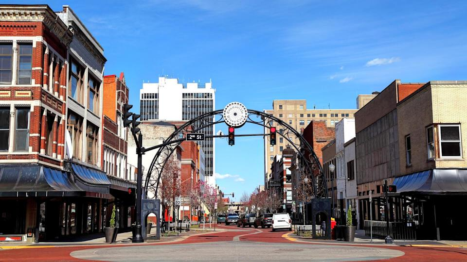 Evansville is a city in and the county seat of Vanderburgh County, Indiana, United States.