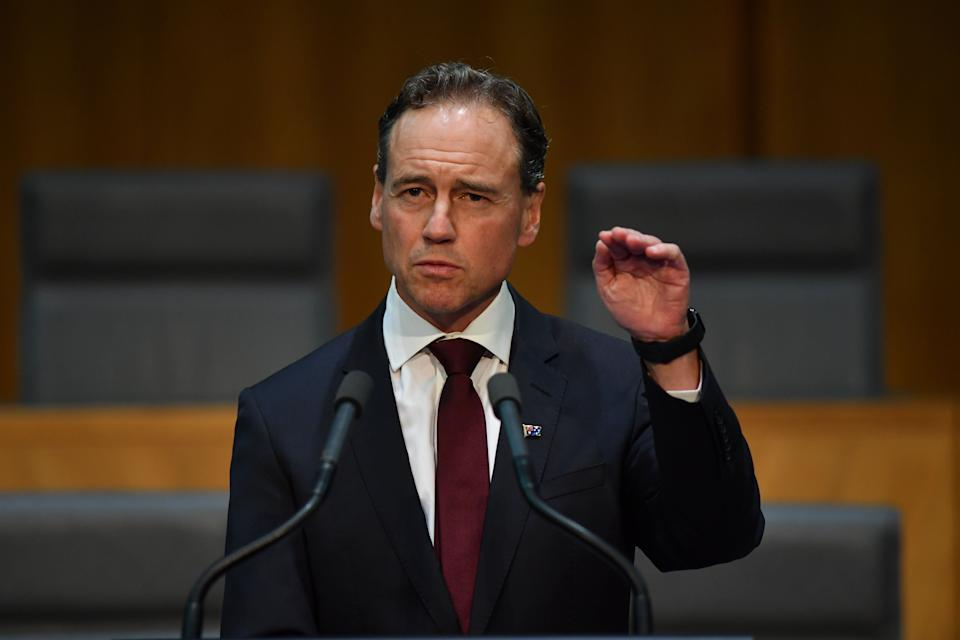 Minister for Health Greg Hunt (Photo: Sam Mooy via Getty Images)