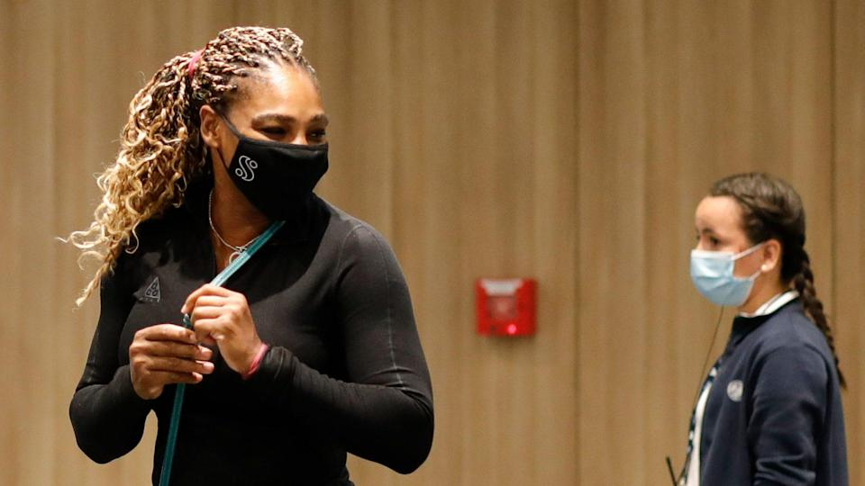 Mandatory Credit: Photo by Christophe Ena/AP/Shutterstock (10802774z)Serena Williams of the U.