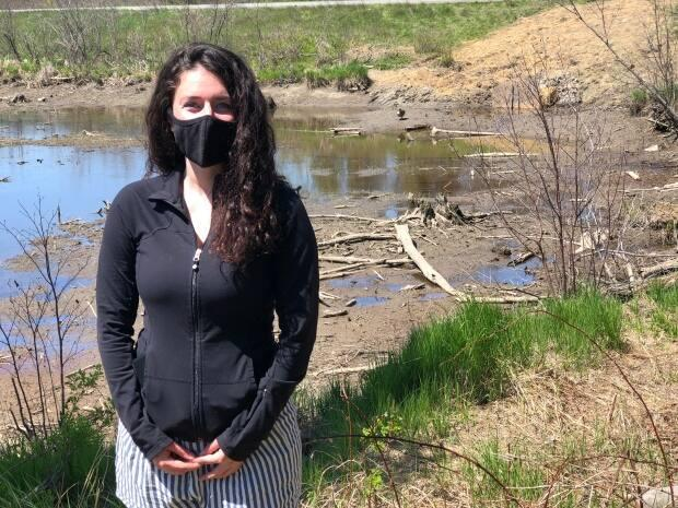Shaylyn Wallace is with the Nature Trust of New Brunswick.
