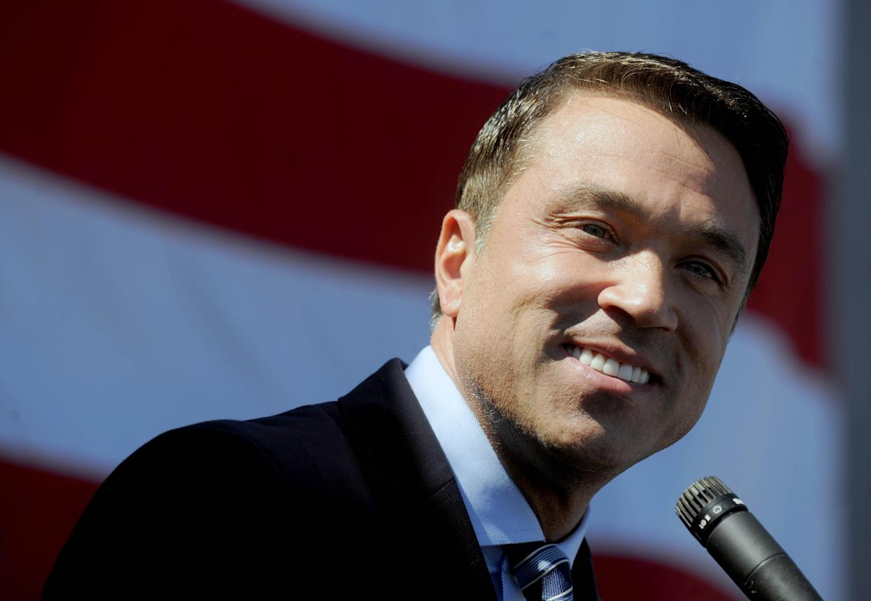 Former N.Y.C. congressman Michael Grimm announces he will try to recapture his seat. (Photo: Dennis Van Tine/STAR MAX/AP)