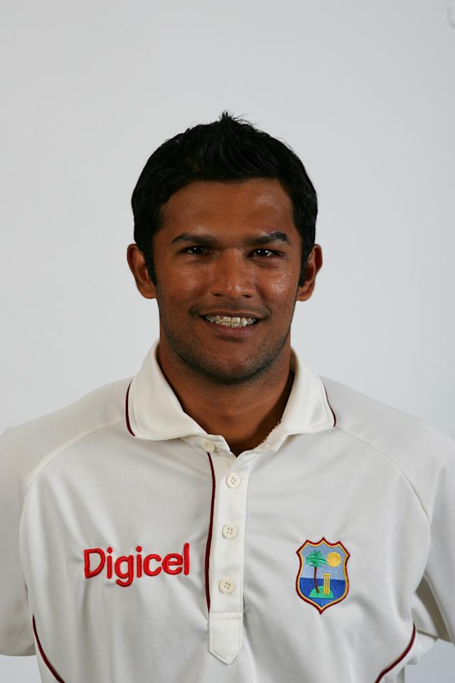 LONDON - MAY 15: Daren Ganga of the West Indies at Lord's on May 15, 2007 in London, England (Photo by Mike Hewitt/Getty Images)