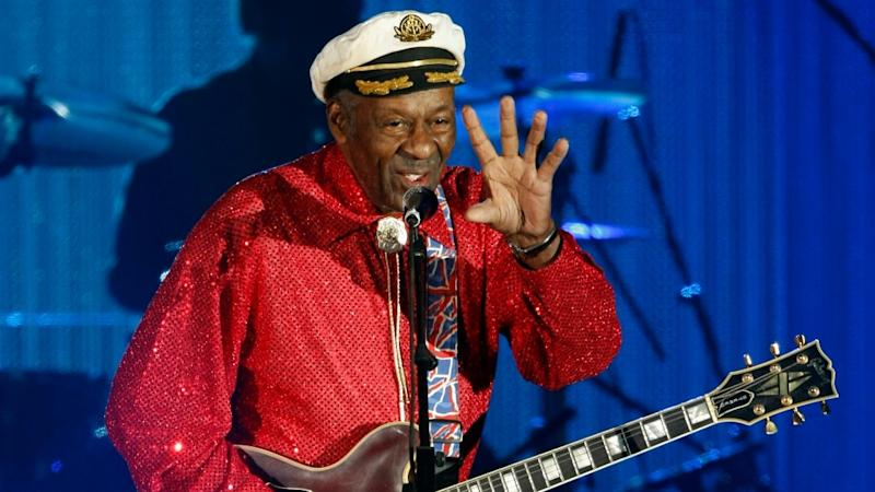 Rock and roll pioneer Chuck Berry, dead at 90