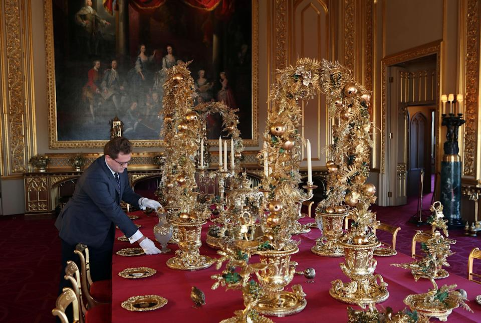 This beats your normal silver cutlery [Photo: PA]