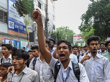 Bangladesh student protests: Activists go into hiding, delete social media posts after police arrest 100 for incitement to violence