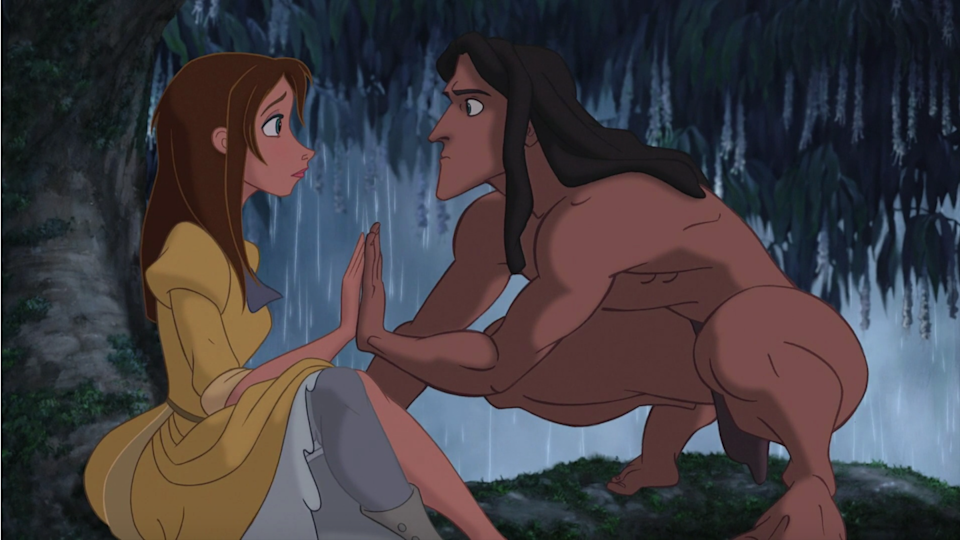 """<p>Take a ride on the wild side with Tarzan standing next to you all night long. Just don't go swinging on any vines you may find.</p><p><a class=""""link rapid-noclick-resp"""" href=""""https://go.redirectingat.com?id=74968X1596630&url=https%3A%2F%2Fwww.halloweencostumes.com%2Ftarzan-adult-costume.html&sref=https%3A%2F%2Fwww.womansday.com%2Fstyle%2Fg28691602%2Fdisney-couples-costumes%2F"""" rel=""""nofollow noopener"""" target=""""_blank"""" data-ylk=""""slk:SHOP TARZAN COSTUME"""">SHOP TARZAN COSTUME</a></p><p><a class=""""link rapid-noclick-resp"""" href=""""https://www.amazon.com/Coskidz-Womens-Princess-Cosplay-Costume/dp/B08255MZD6?tag=syn-yahoo-20&ascsubtag=%5Bartid%7C10070.g.28691602%5Bsrc%7Cyahoo-us"""" rel=""""nofollow noopener"""" target=""""_blank"""" data-ylk=""""slk:SHOP JANE COSTUME"""">SHOP JANE COSTUME</a> </p>"""