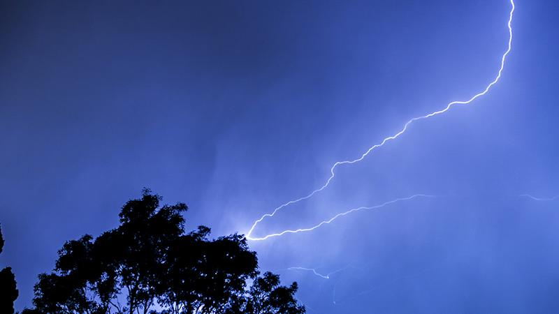 A teenager and a man in his 20s have been struck by lightning in the Blue Mountains. Source: Getty Images