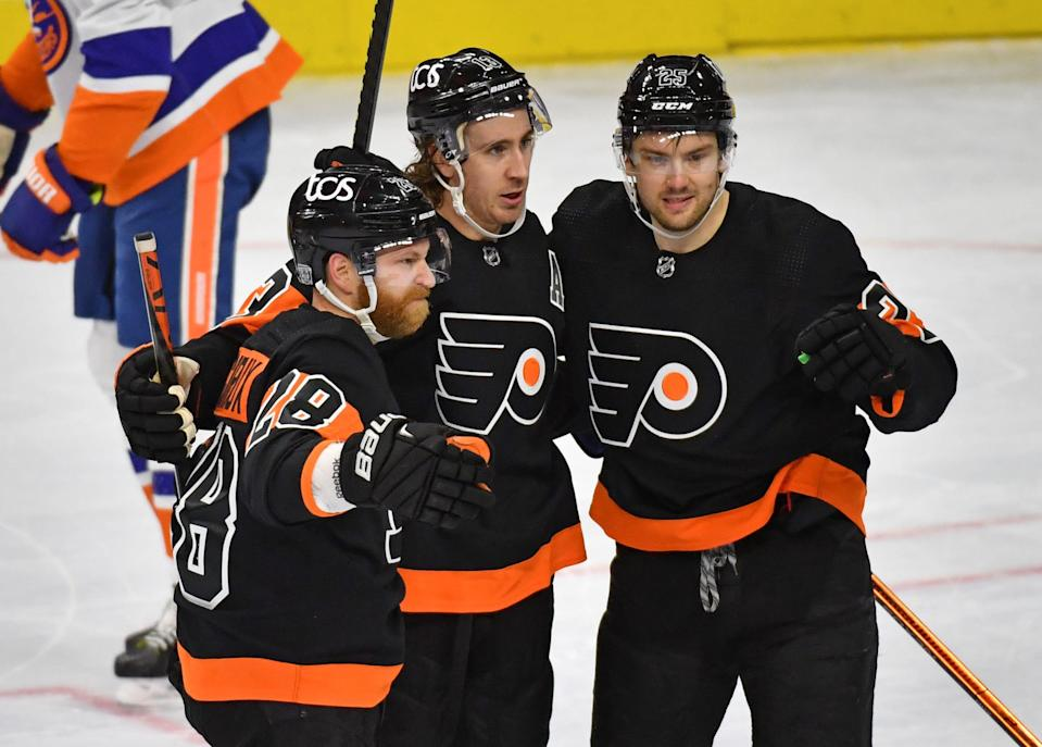 The Philadelphia Flyers are scheduled to play Thursday after having four games postponed due to COVID-19 issues.