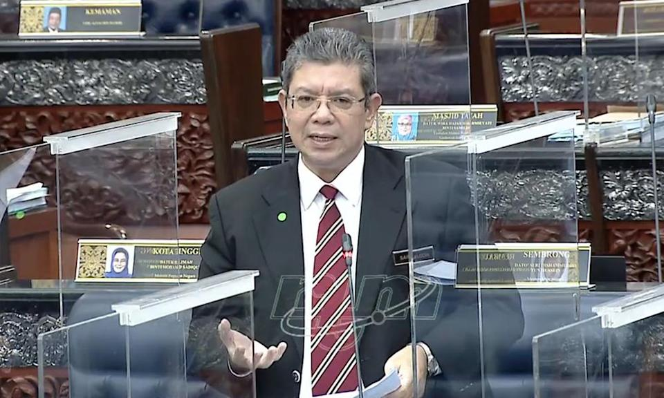Saifuddin: Jasa rebranded, RM85.5m budget reduced but unspecified