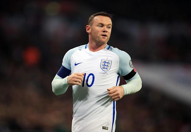 Wayne Rooney played for England 119 times