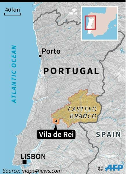 "The mayor of Vila de Rei in the Castelo Branco region said ""unfortunately terror returned once again"" (AFP Photo/Paz PIZARRO)"