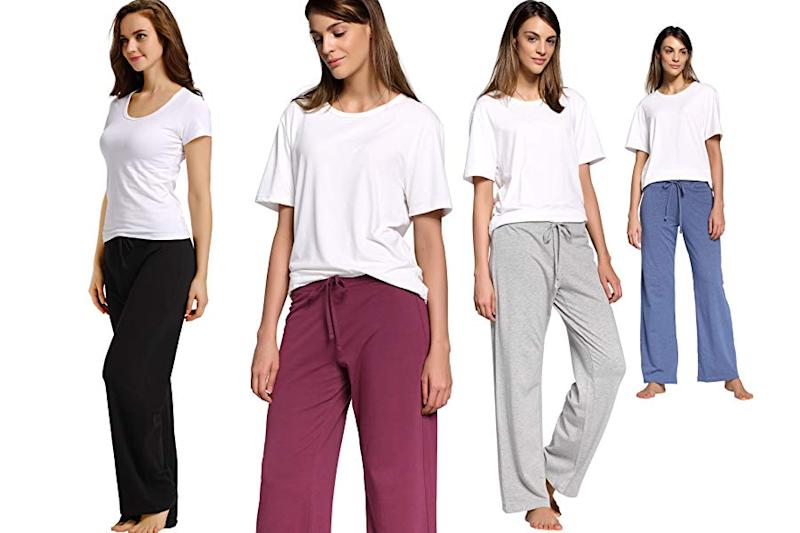 CYZ Womens casual stretch cotton pants. (Photo: Amazon)
