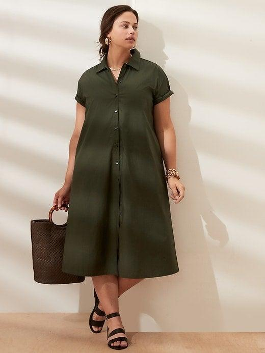 """<br><br><strong>Banana Republic</strong> Classic Cotton Shirtdress, $, available at <a href=""""https://go.skimresources.com/?id=30283X879131&url=https%3A%2F%2Fbananarepublicfactory.gapfactory.com%2Fbrowse%2Fproduct.do%3Fpid%3D759316021%26cid%3D1145487%26pcid%3D1145487%26vid%3D1%26cpos%3D21%26cexp%3D287%26kcid%3DCategoryIDs%253D1145487%26cvar%3D1701%26ctype%3DListing%26cpid%3Dres21072210375884101901149%23pdp-page-content"""" rel=""""nofollow noopener"""" target=""""_blank"""" data-ylk=""""slk:Banana Republic Factory"""" class=""""link rapid-noclick-resp"""">Banana Republic Factory</a>"""