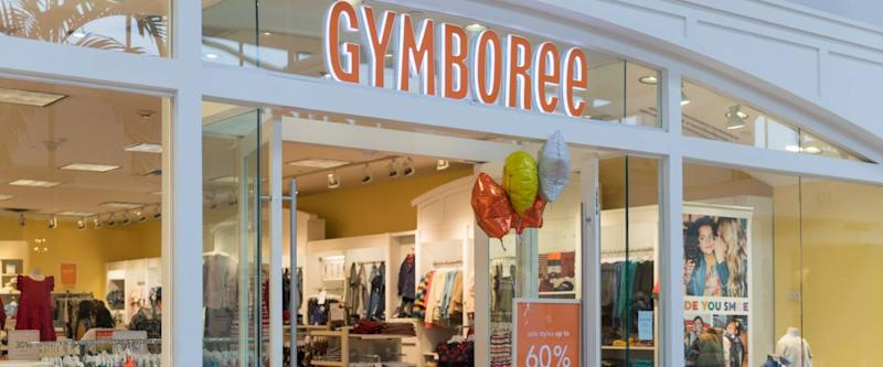 New Jersey, NJ, October 6 2018:Entrance to Gymboree Store featuring 60% off entire store