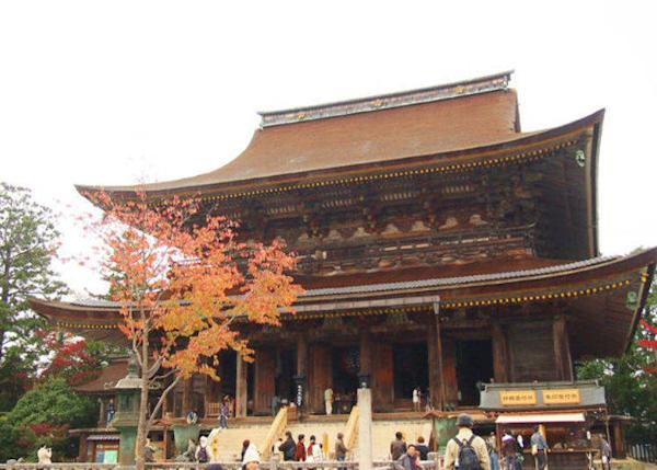 ▲Zaodo was rebuilt in the Muromachi period. It is designated as a national treasure.