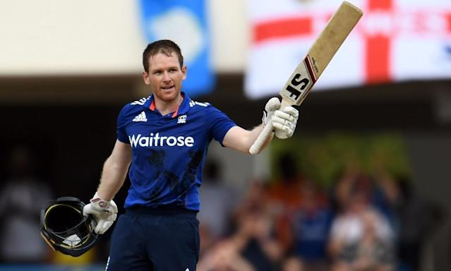 "<span class=""element-image__caption"">Eoin Morgan dispelled any doubts about his form and leadership over the winter and will hope his settled squad can win England's first Champions Trophy.</span> <span class=""element-image__credit"">Photograph: Jewel Samad/AFP/Getty Images</span>"