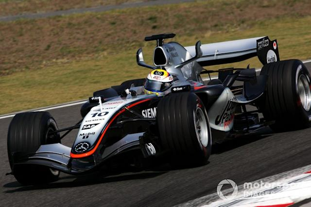 "McLaren MP4/20 (2005) <span class=""copyright"">Sutton Motorsport Images</span>"