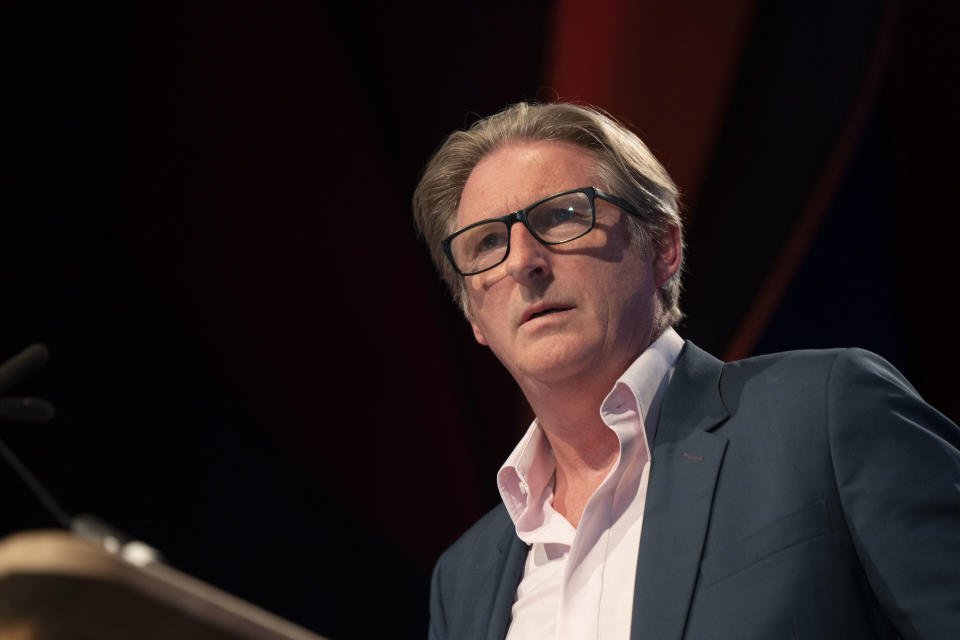 Adrian Dunbar is set to guest host Have I Got News For You. (Photo by David Levenson/Getty Images)