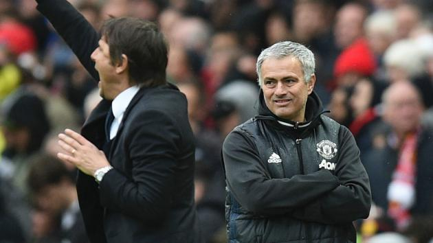 <p>Conte: You can't compare my Chelsea record with Mourinho's</p>
