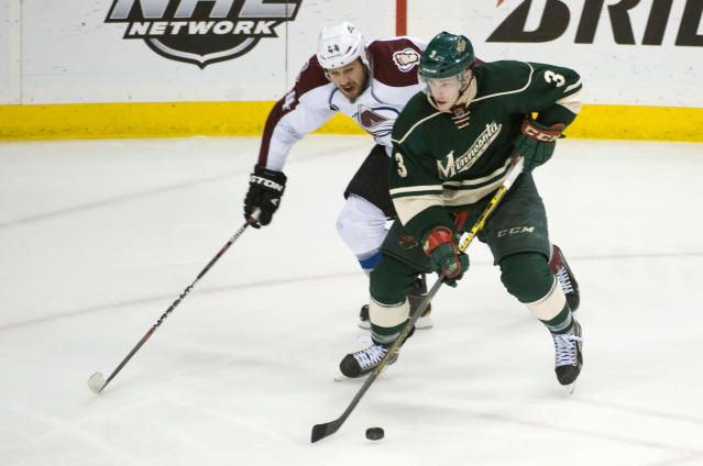 Charlie Coyle played with two separated shoulders in Wild's playoff run