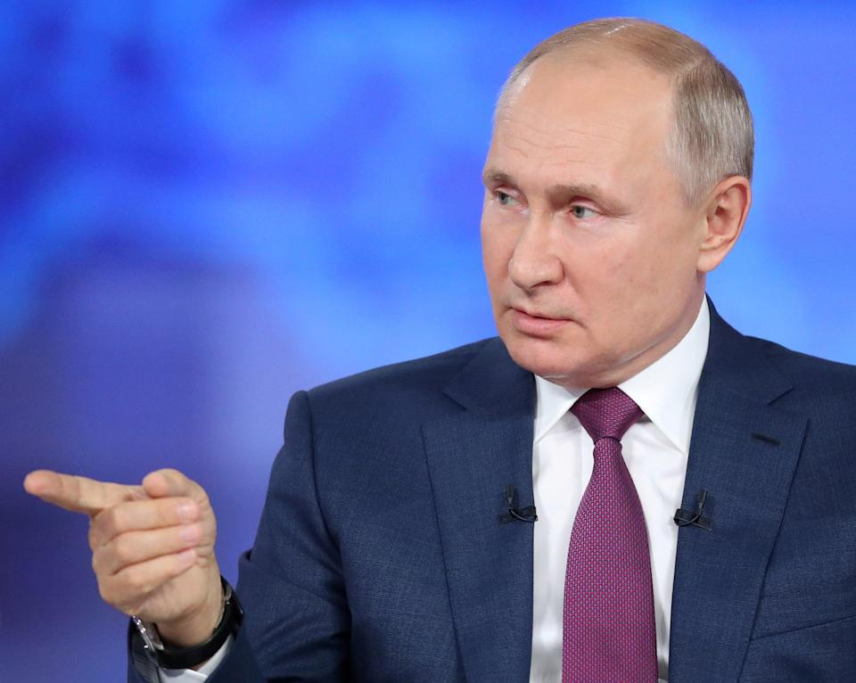Only one winner? Vladimir Putin's United Russia party is expected to triumph despite a slump in recent polls (via REUTERS)