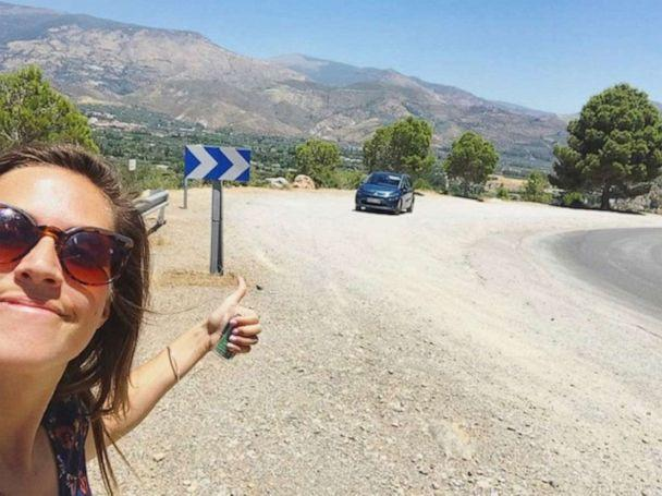 PHOTO: Scouting some new locations in Pampaneira, Spain – rented a car and drove through the Sierra Nevadas. (Lexie Carter)