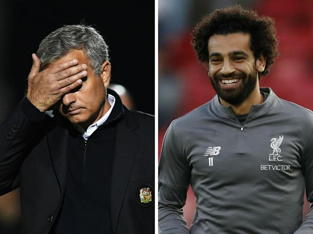 Look away now Manchester United fans: Mo Salah is ahead of the entire United team in one stat