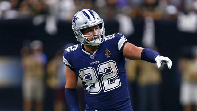 Jason Witten will be 38 years old next season. (AP Photo/Butch Dill)