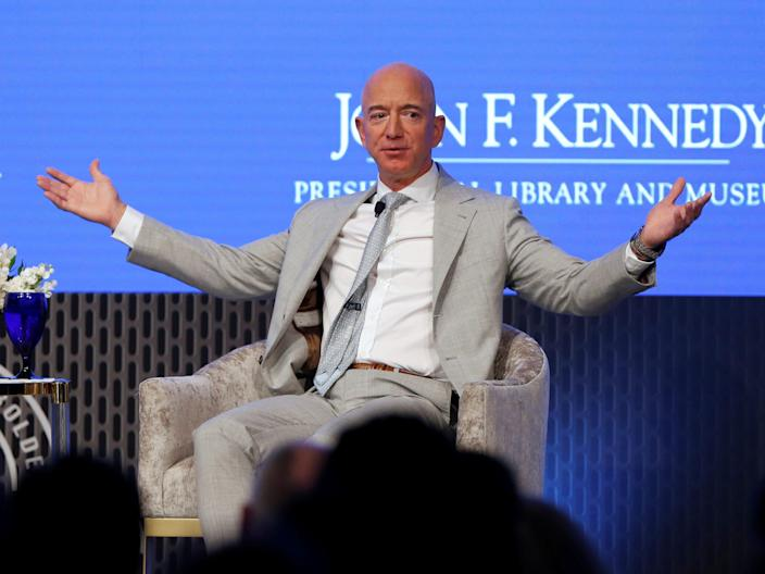 Jeff Bezos, founder and CEO of Amazon, is the richest person alive — and the first in modern history to accumulate a fortune over $100 billion.