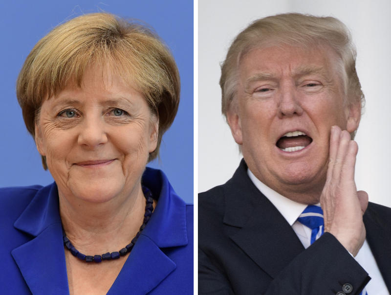 5 Things to Watch For at Donald Trump's Meeting With Angela Merkel