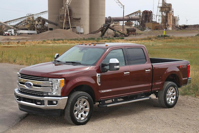 Ford comes top in heavy-duty pick up tests