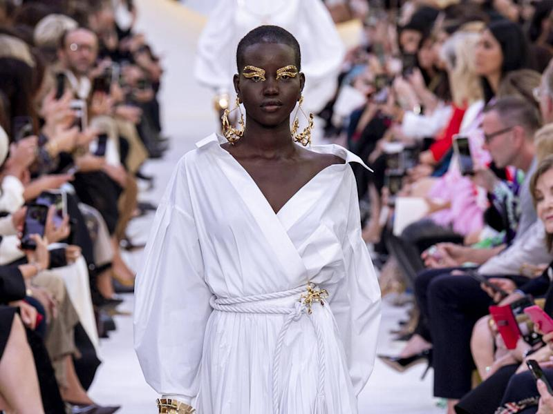 Adut Akech overwhelmed by her Valentino fragrance campaign