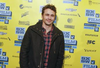 James Franco at the U.S. premiere of 'Spring Breakers'