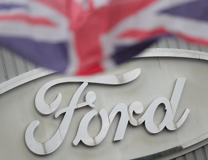 "US automaker Ford, which employs 13,000 people in Britain including at this plant in Dagenham, East London, suggested on that a ""hard Brexit"" would cost it around $800 million (AFP Photo/ANDREW COWIE)"