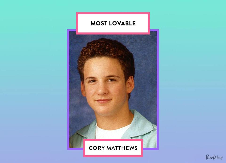 <p>He has his neurotic moments, but guys, Cory is just so lovably goofy, witty and genuine. It's admirable that he went out of his way to make others happy and show his support.</p>