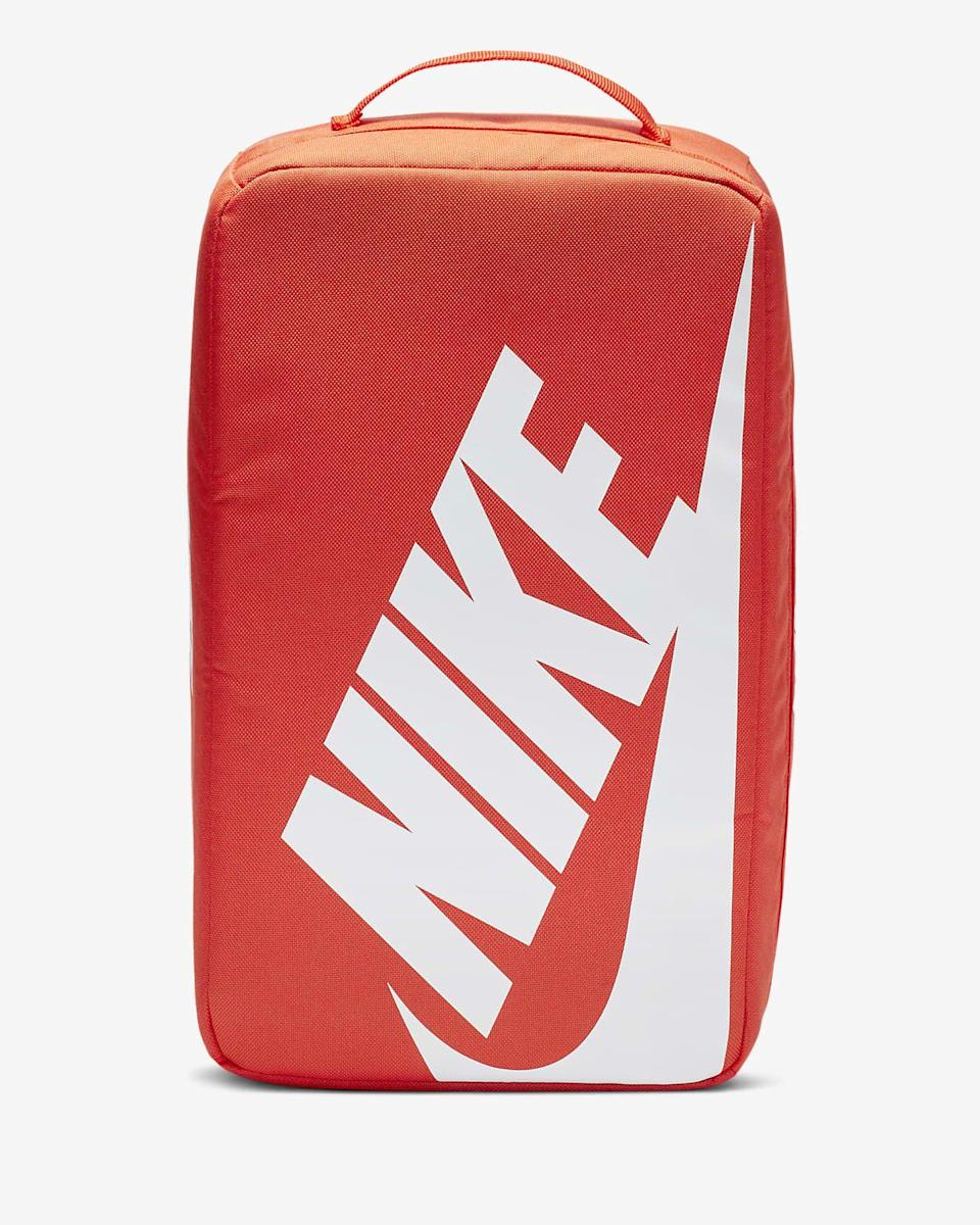 """<p><strong>Nike</strong></p><p>nike.com</p><p><strong>$21.97</strong></p><p><a href=""""https://go.redirectingat.com?id=74968X1596630&url=https%3A%2F%2Fwww.nike.com%2Ft%2Fshoebox-bag-8kp18k&sref=https%3A%2F%2Fwww.seventeen.com%2Flove%2Fdating-advice%2Fadvice%2Fg606%2Fboyfriend-gifts%2F"""" rel=""""nofollow noopener"""" target=""""_blank"""" data-ylk=""""slk:Shop Now"""" class=""""link rapid-noclick-resp"""">Shop Now</a></p><p>This is the ultimate sneakerhead gift that <em>isn't</em> sneakers.</p>"""